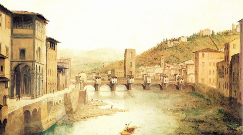 Ponte alle Grazie e Loggia degli Uffizi