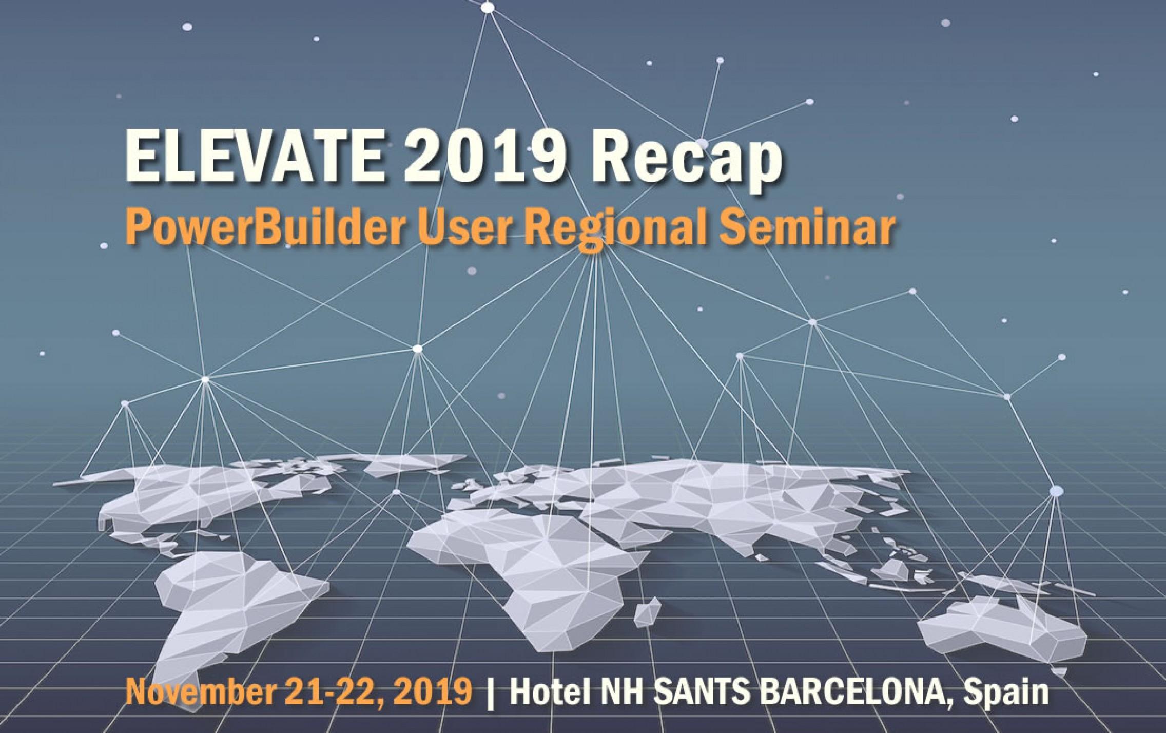 Elevate 2019 Recap Seminar - Softpi